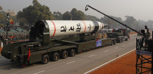 India set to Launch Nuclear Capable Agni-V Missile.