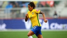 Brazil forward Cristiane