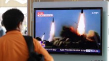 North Korea Dares with a Missile Test.