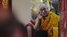 Dalai Lama Arrives in Arunachal Pradesh.