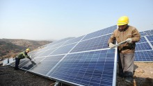 Terrestrial Photovoltaic Power Project Built In Yantai