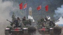 South Korea Re-enacts Korean War Battle To Mark 63rd Anniversary