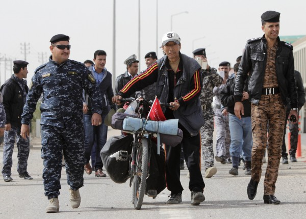 Chinese Student Released Iraq