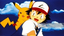 Pokemon : Ash and Pikachu