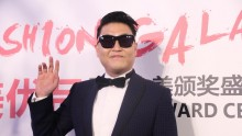 South Korean singer Psy attends the Award Ceremony of Fashion Galaxy on February 29, 2016 in Beijing, China.