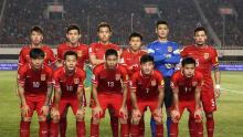 chinese men's national football squad